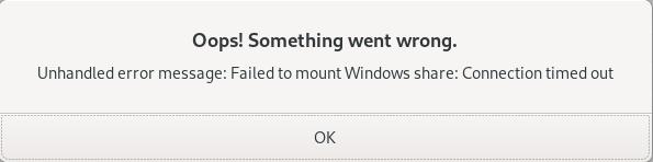 Windows share mount error - Eine häufige Fehlermedung wenn man mit Linux und OpenVPN auf einer Sophos XG arbeitet